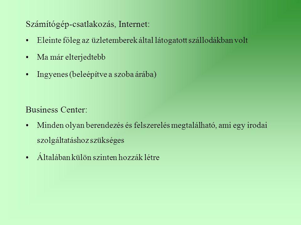 Számítógép-csatlakozás, Internet: