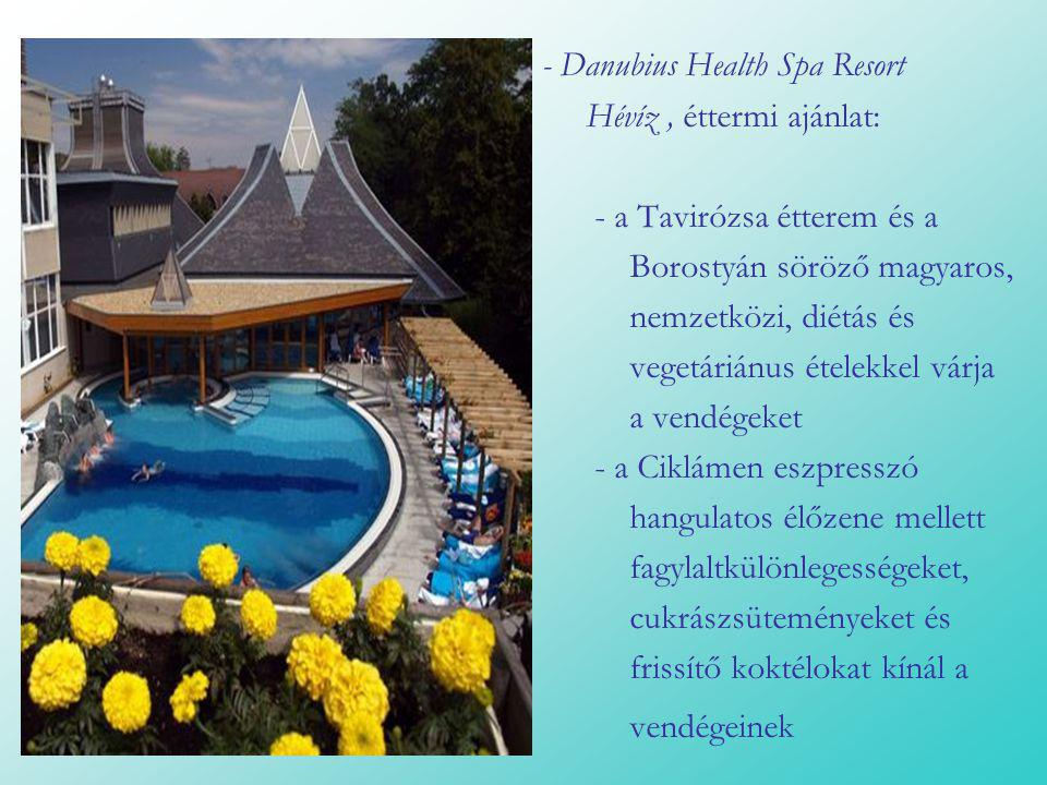 - Danubius Health Spa Resort
