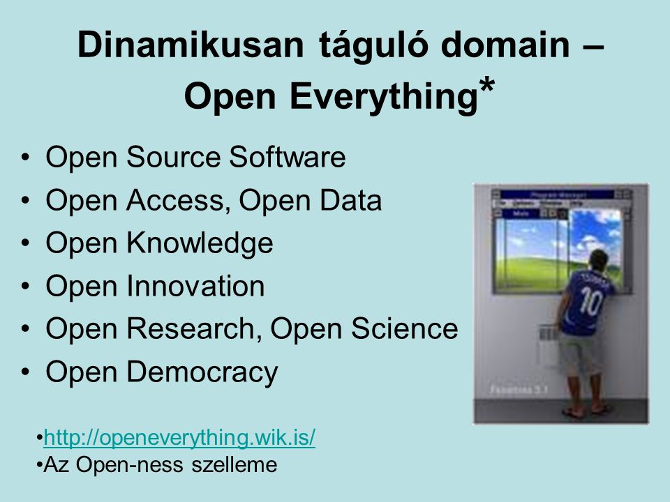 Dinamikusan táguló domain – Open Everything*