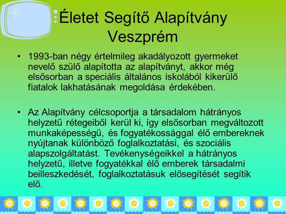 Életet Segítő Alapítvány Veszprém