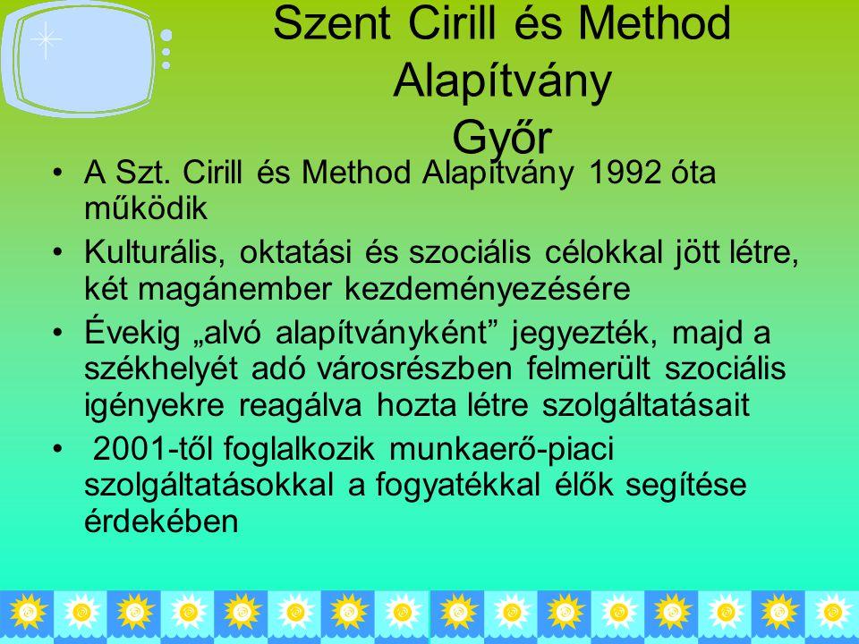 Szent Cirill és Method Alapítvány Győr