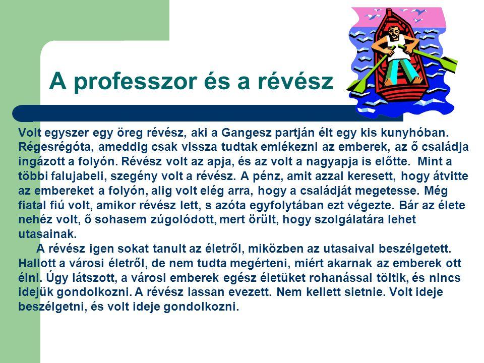A professzor és a révész