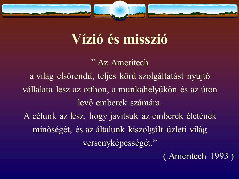 Vízió és misszió Az Ameritech