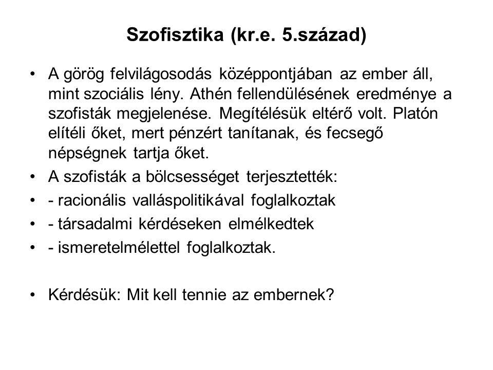 Szofisztika (kr.e. 5.század)