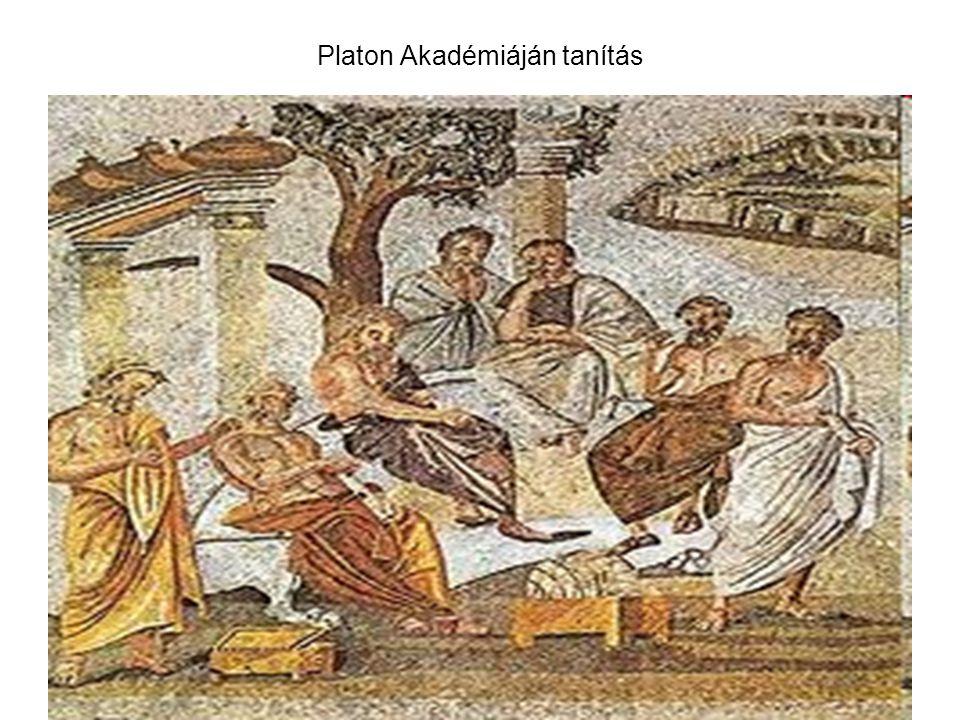 Platon Akadémiáján tanítás