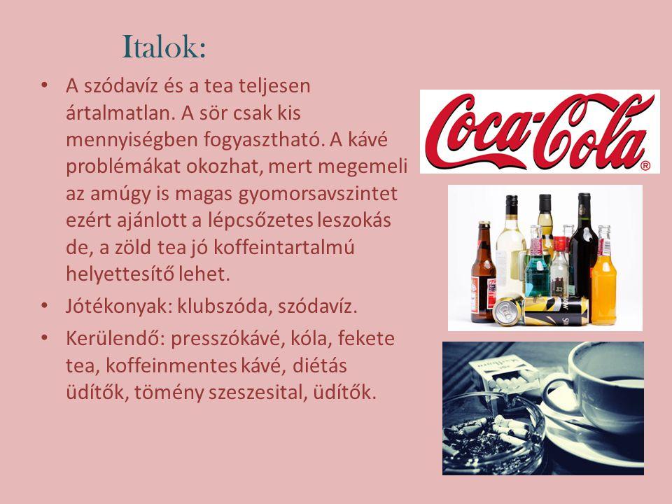 Italok: