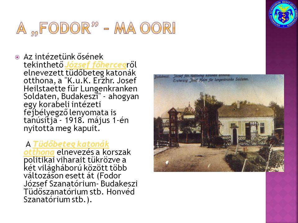 """A """"FODOR – ma OORI"""