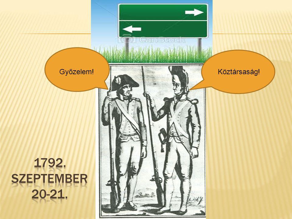 Győzelem! Köztársaság! 1792. SZEPTEMBER 20-21.