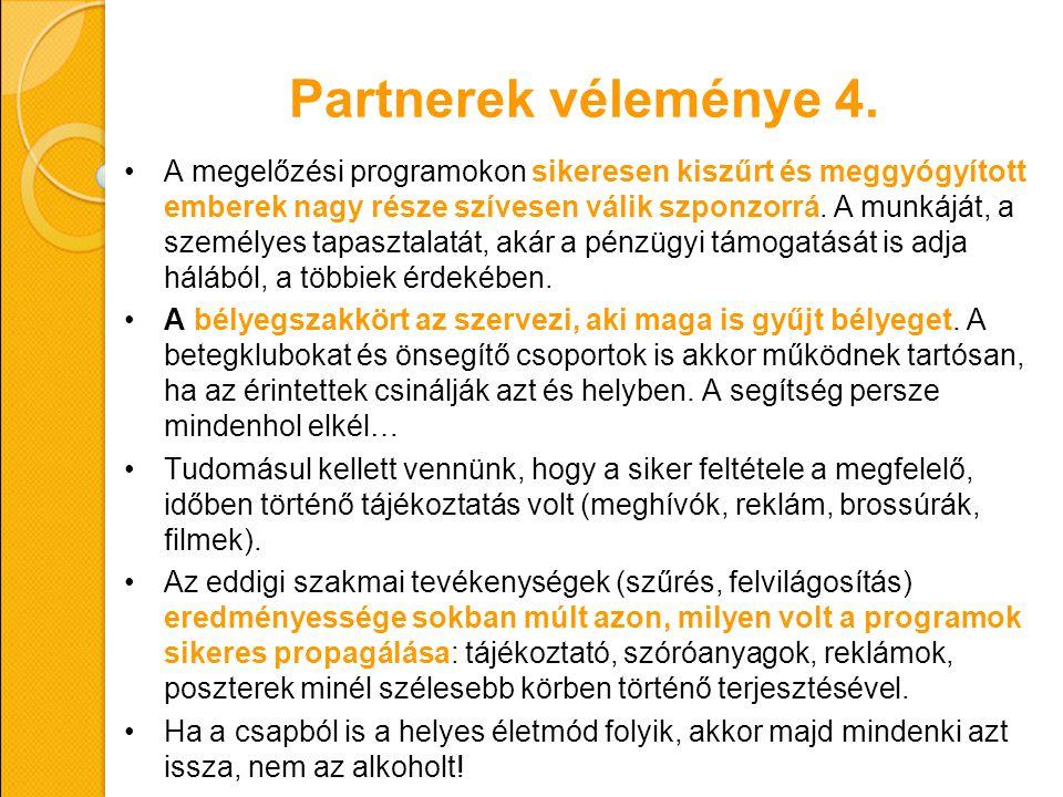 Partnerek véleménye 4.