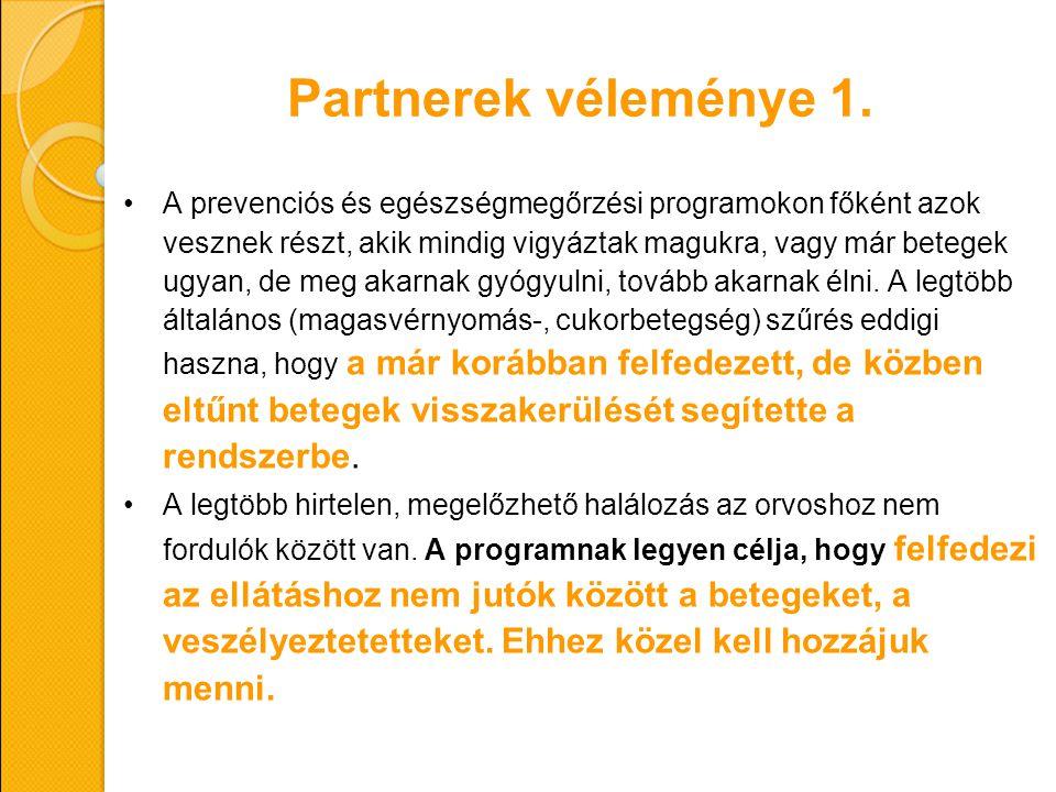 Partnerek véleménye 1.