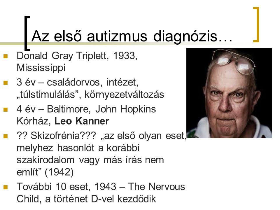 Az első autizmus diagnózis…