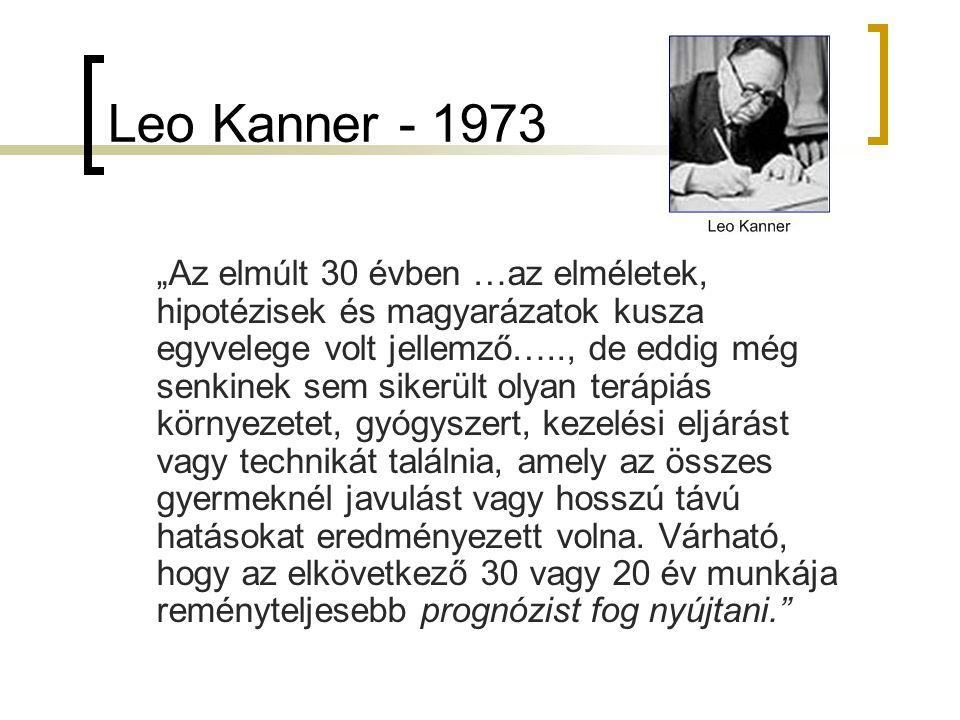 Leo Kanner - 1973