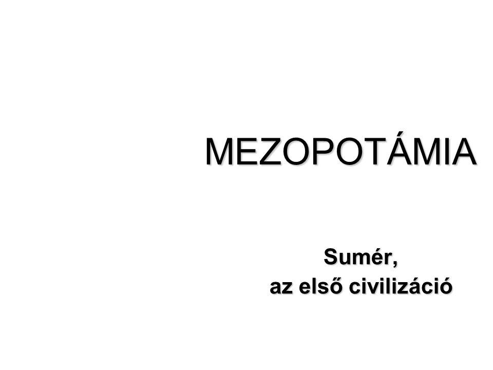 Sumér, az első civilizáció