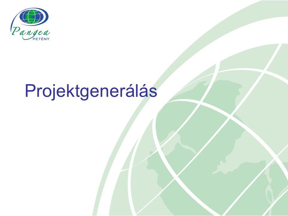 Projektgenerálás