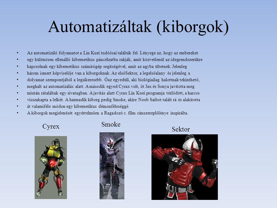 Automatizáltak (kiborgok)