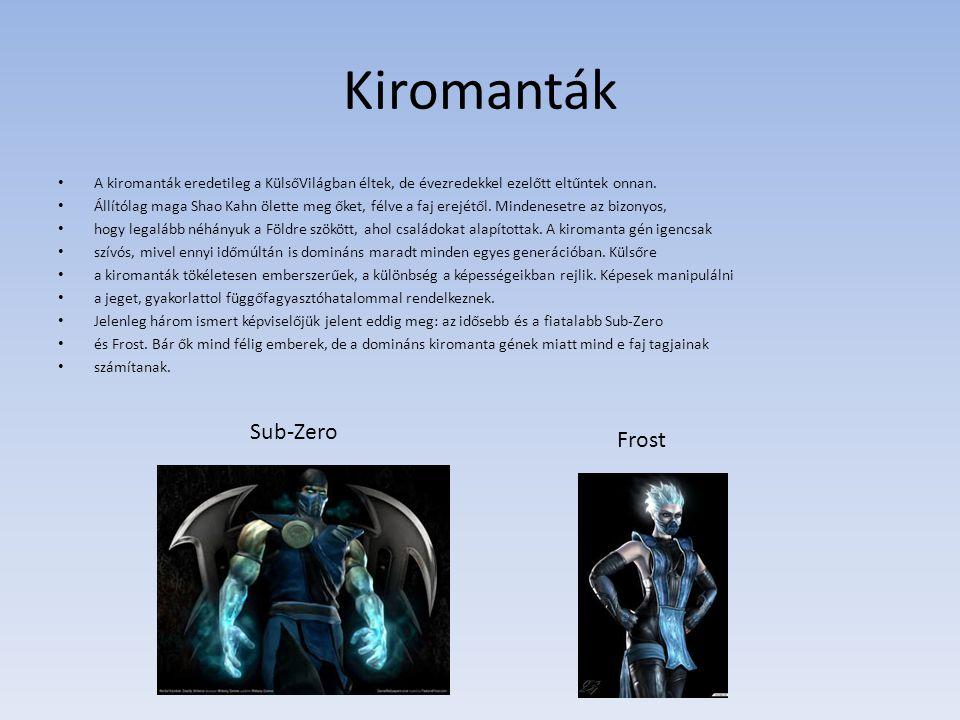 Kiromanták Sub-Zero Frost
