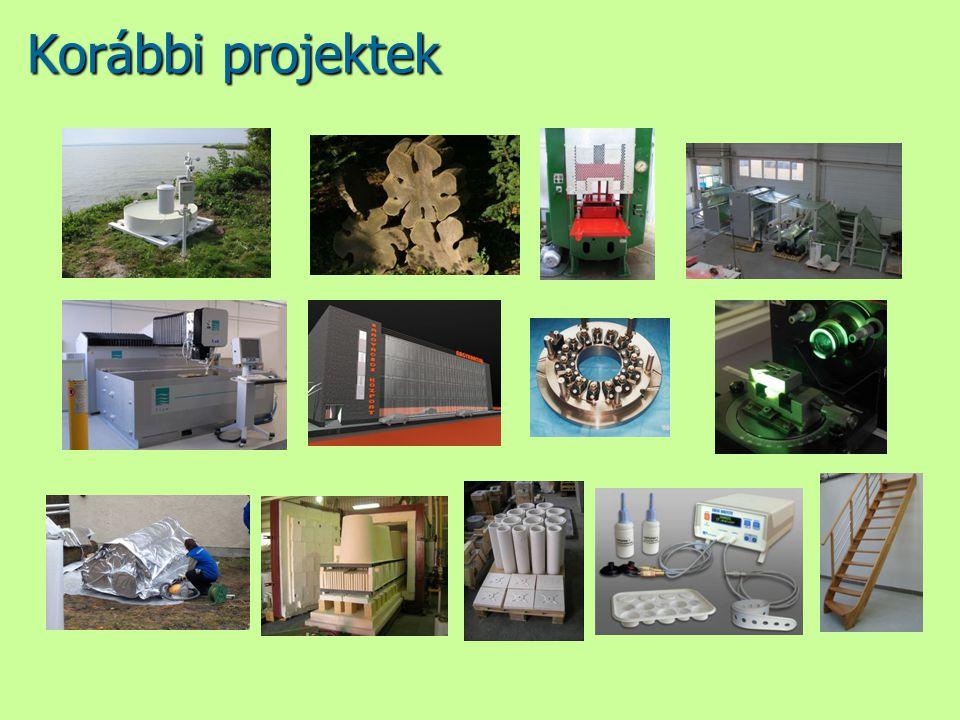 Korábbi projektek