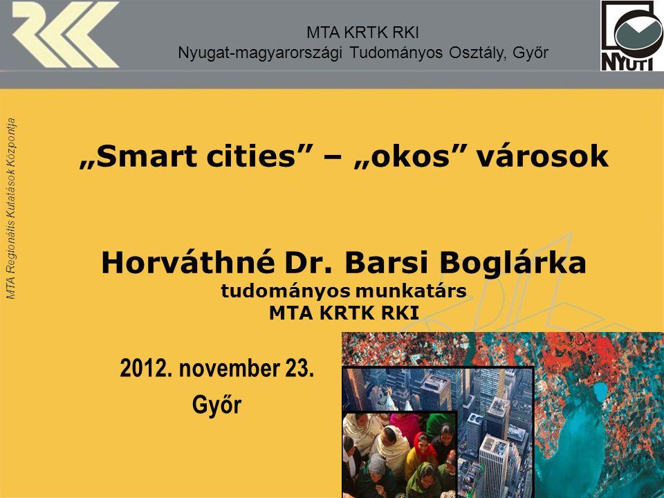 MTA KRTK RKI Nyugat-magyarországi Tudományos Osztály, Győr