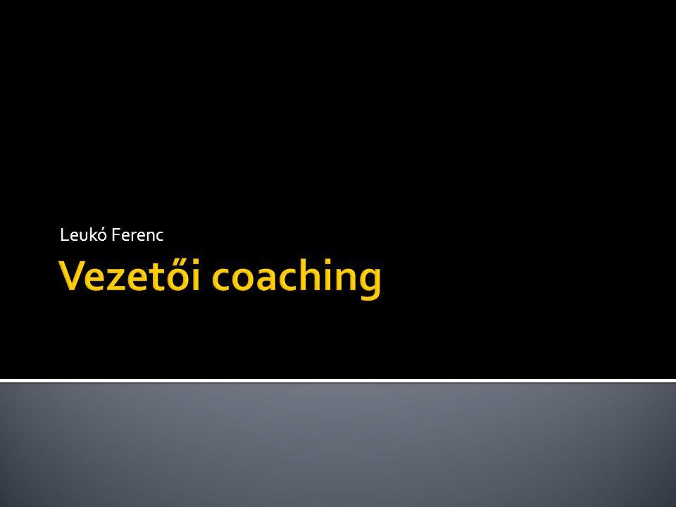 Leukó Ferenc Vezetői coaching