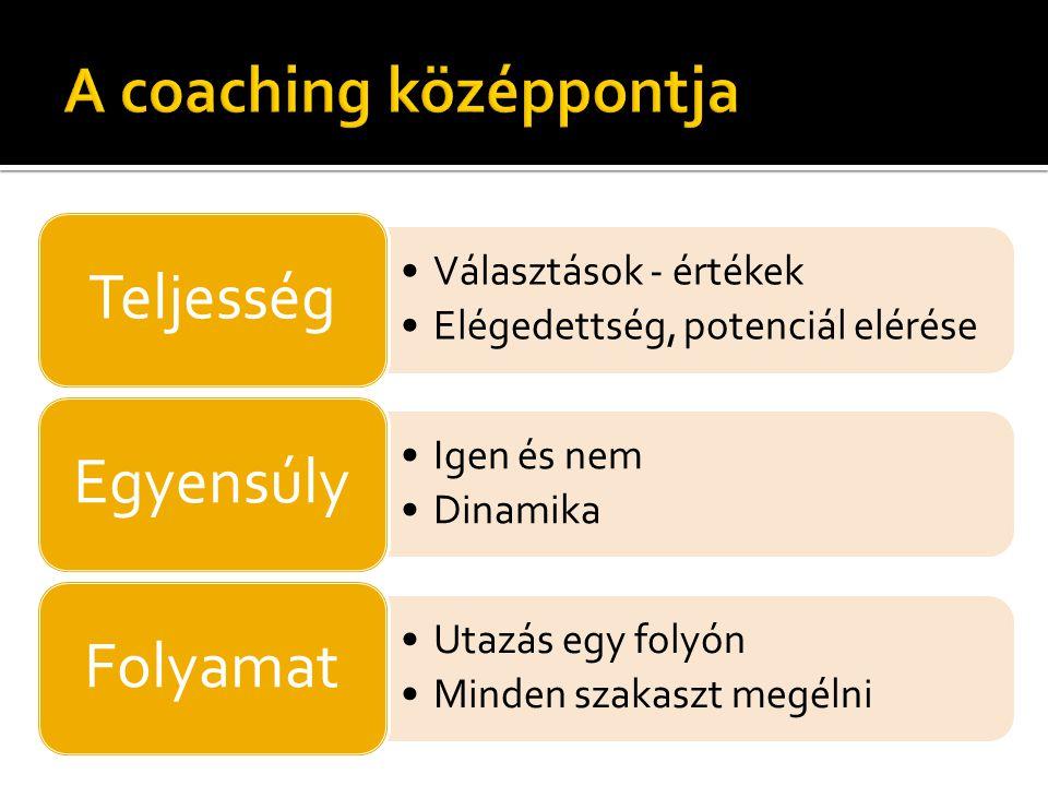 A coaching középpontja