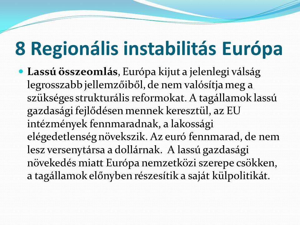 8 Regionális instabilitás Európa