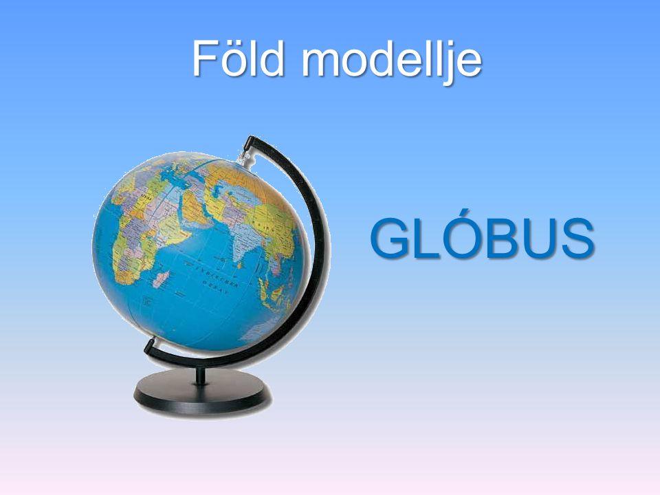 Föld modellje GLÓBUS