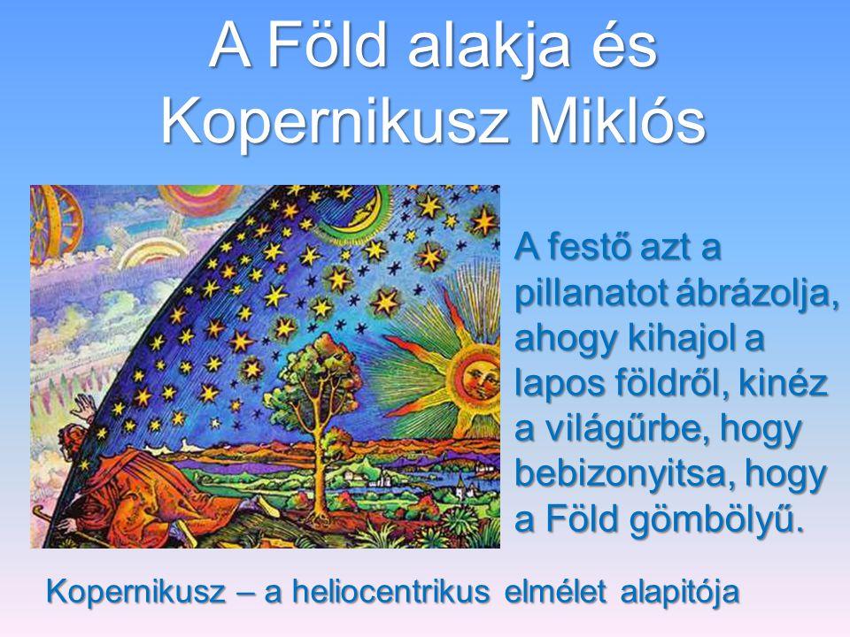 A Föld alakja és Kopernikusz Miklós
