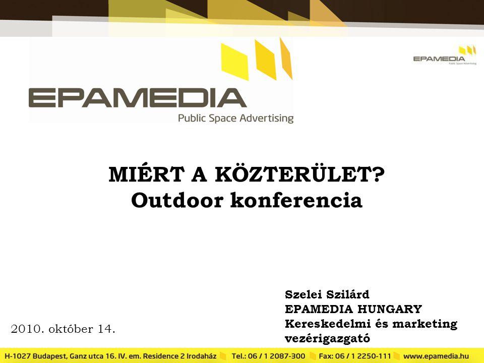 MIÉRT A KÖZTERÜLET Outdoor konferencia