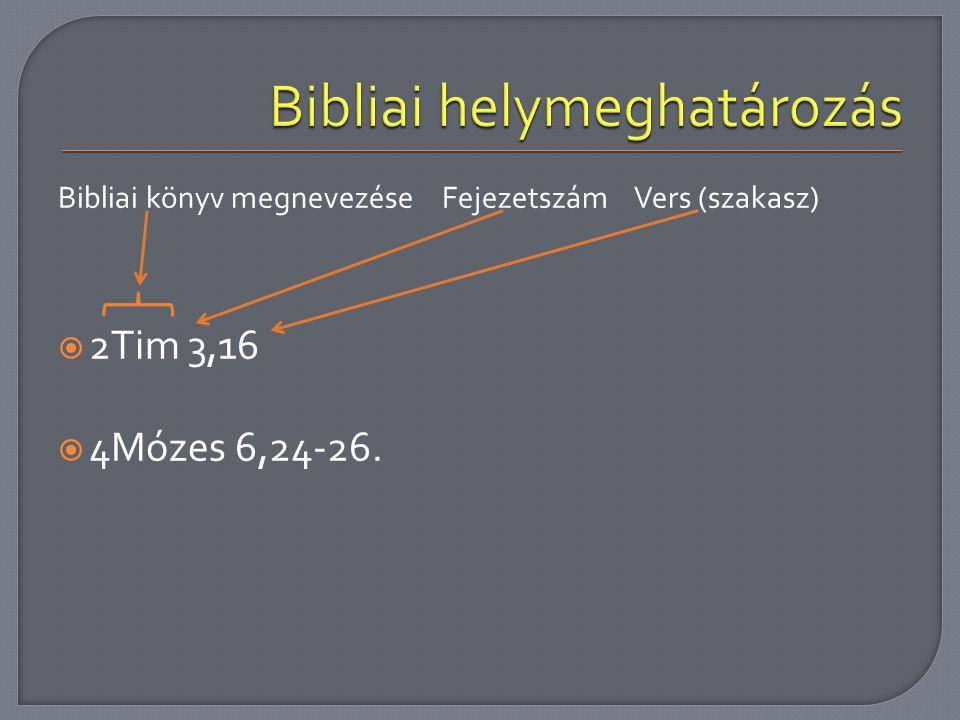 Bibliai helymeghatározás
