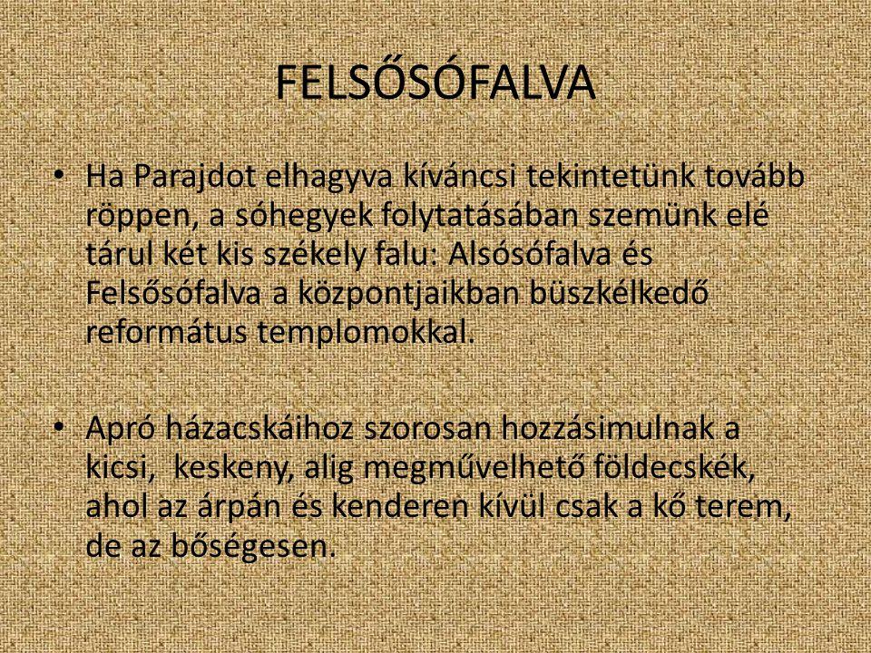 FELSŐSÓFALVA