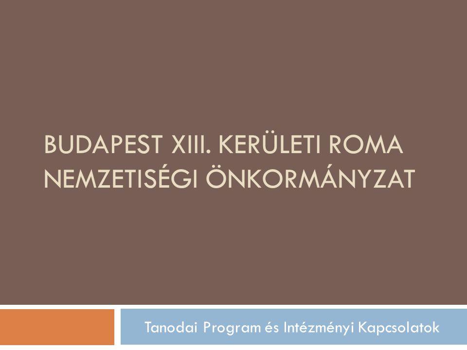 Budapest XIII. Kerületi Roma Nemzetiségi Önkormányzat