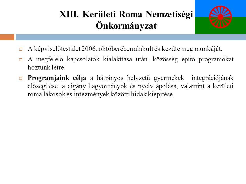 XIII. Kerületi Roma Nemzetiségi Önkormányzat