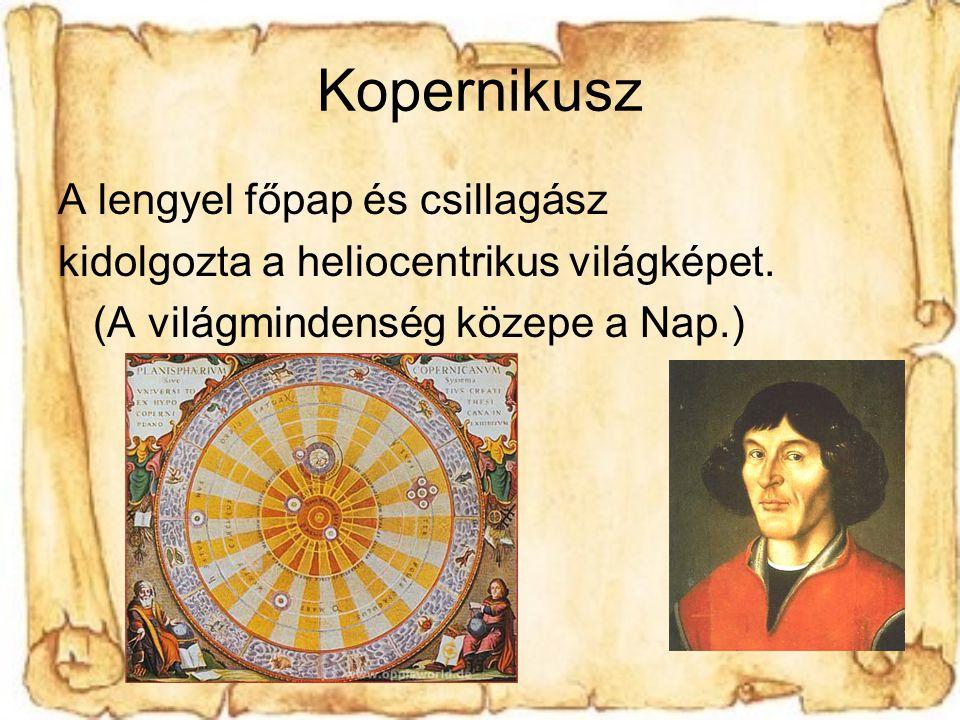 Kopernikusz A lengyel főpap és csillagász