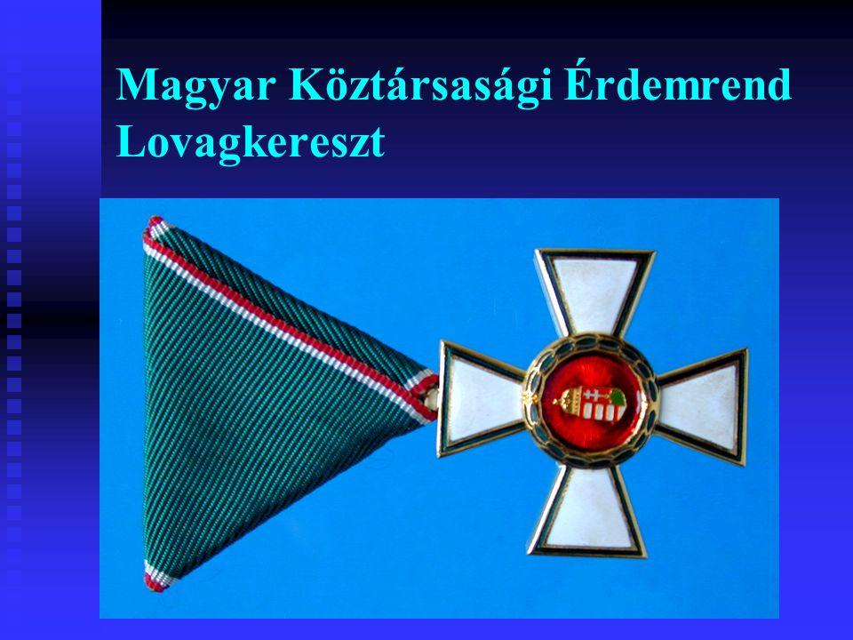 Magyar Köztársasági Érdemrend Lovagkereszt