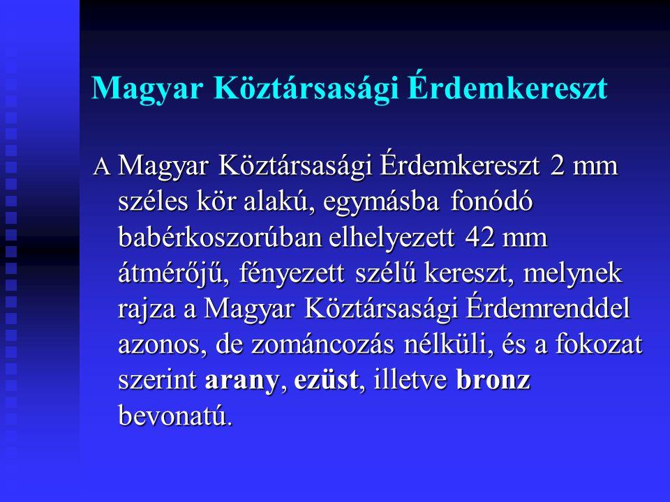Magyar Köztársasági Érdemkereszt