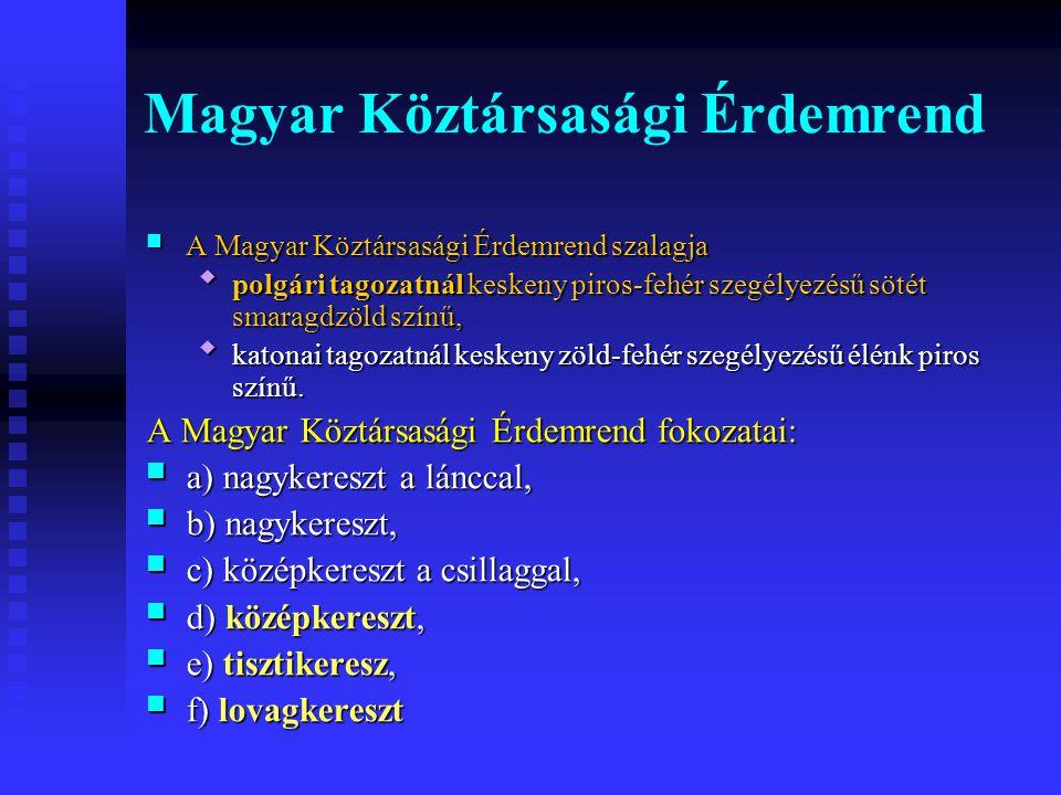 Magyar Köztársasági Érdemrend