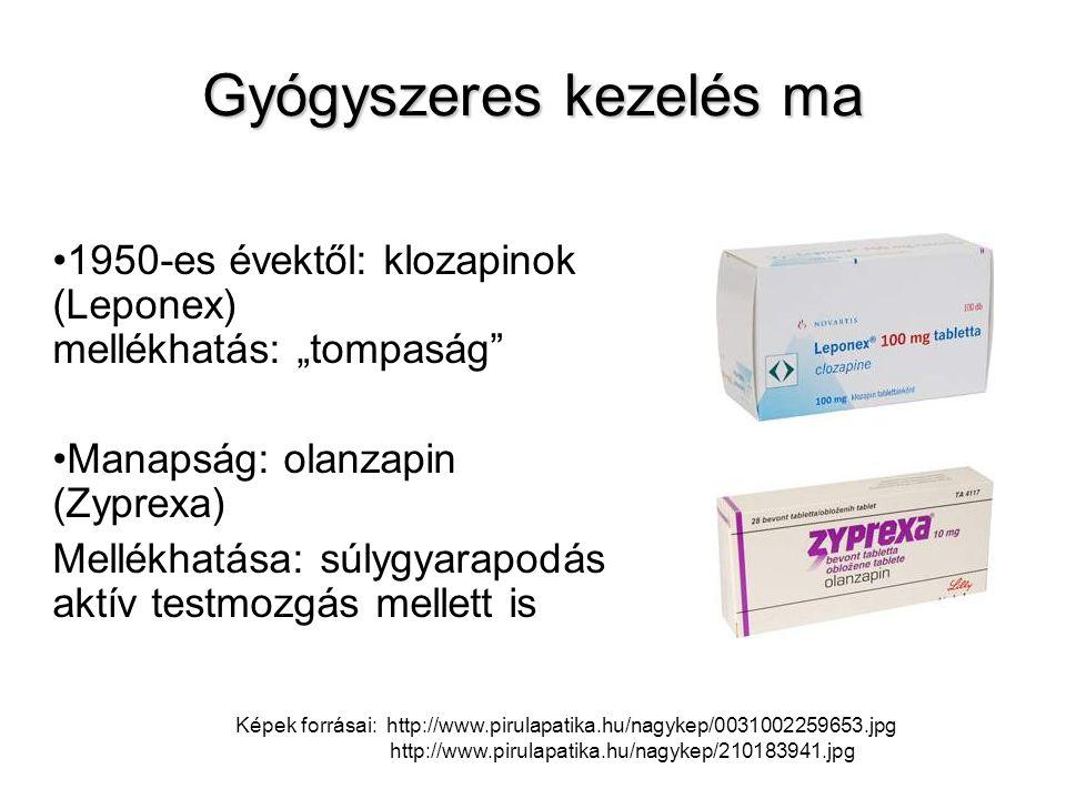 Gyógyszeres kezelés ma
