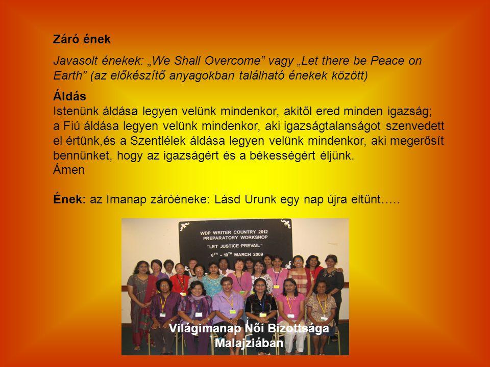 Világimanap Női Bizottsága