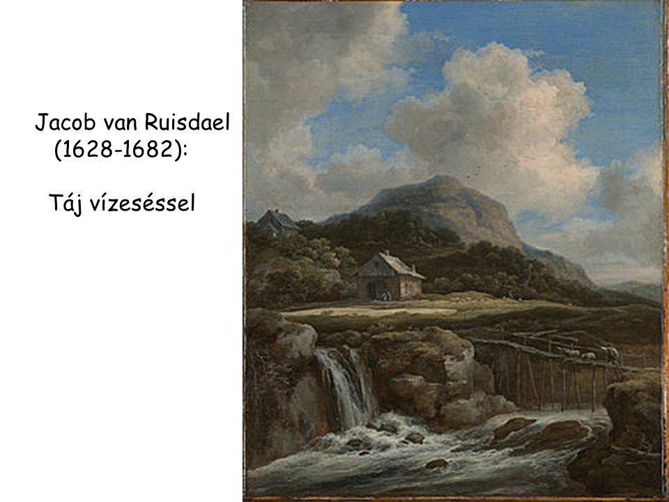 Jacob van Ruisdael (1628-1682): Táj vízeséssel