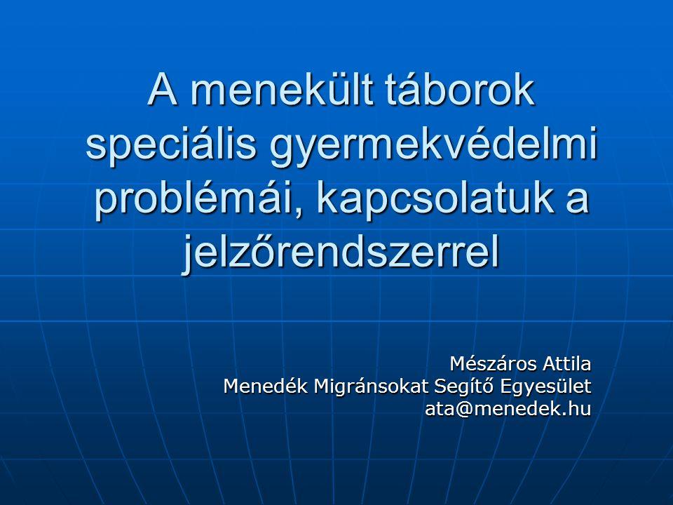 Mészáros Attila Menedék Migránsokat Segítő Egyesület ata@menedek.hu