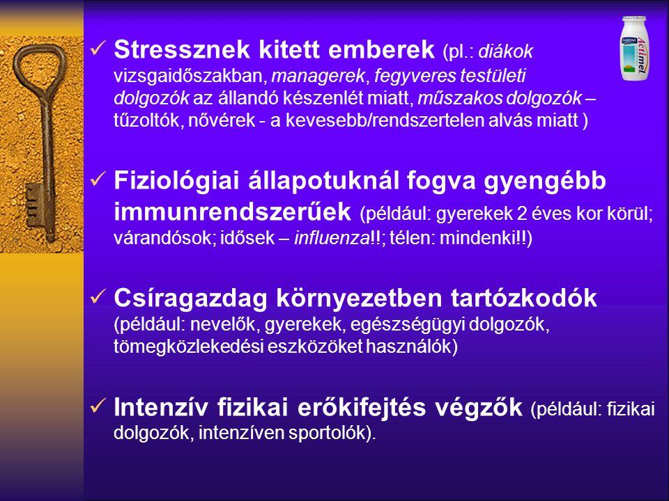 Stressznek kitett emberek (pl