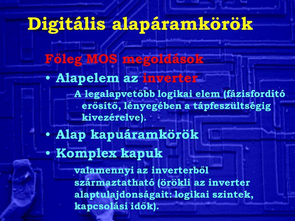 Digitális alapáramkörök