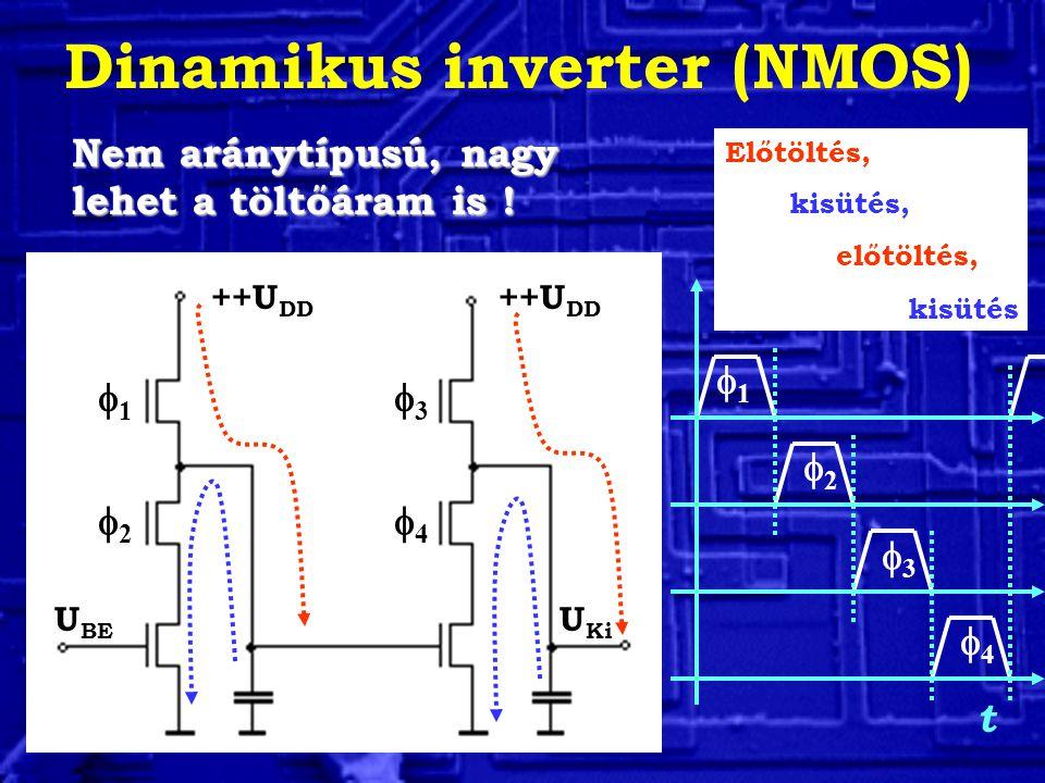 Dinamikus inverter (NMOS)