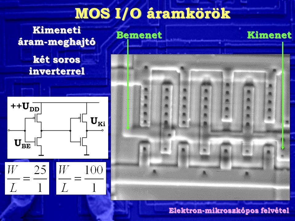 Kimeneti áram-meghajtó Elektron-mikroszkópos felvétel