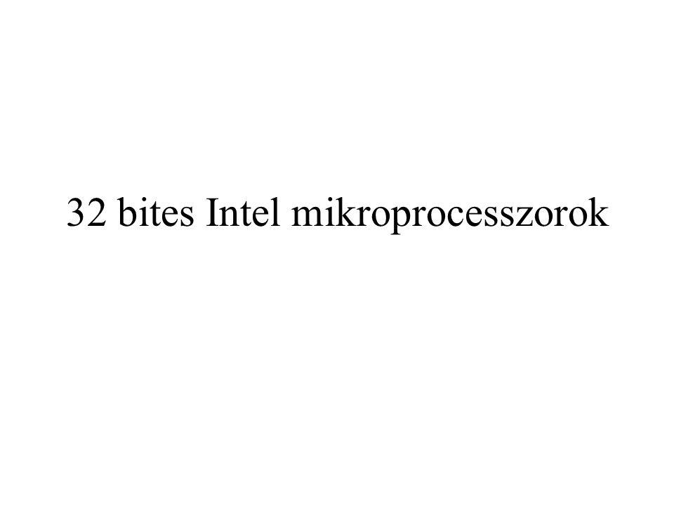 32 bites Intel mikroprocesszorok