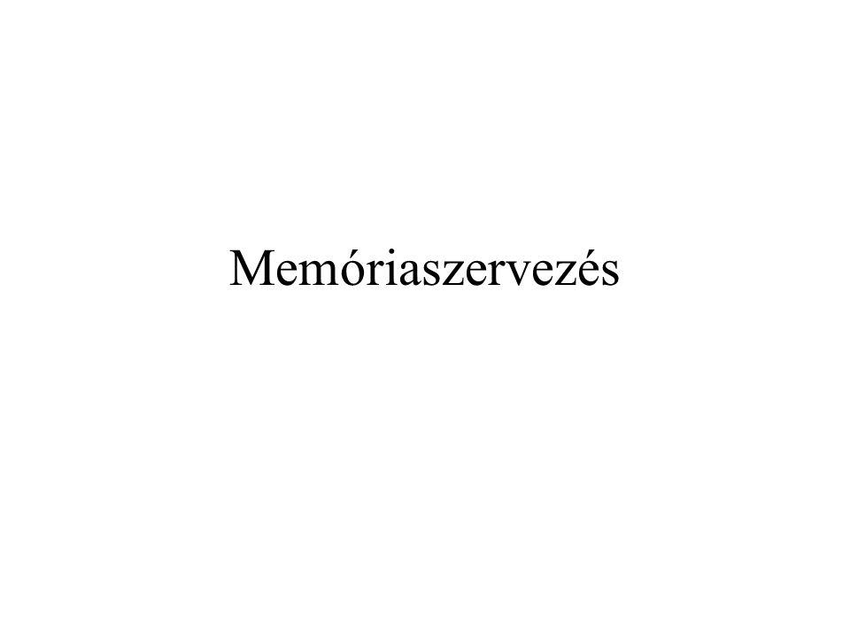 Memóriaszervezés
