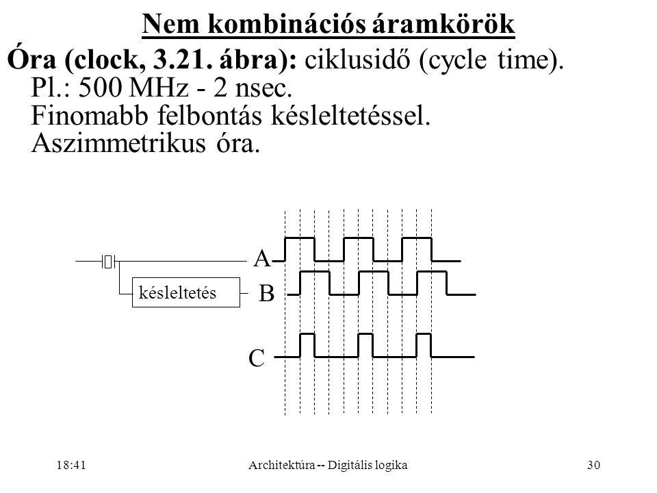Nem kombinációs áramkörök