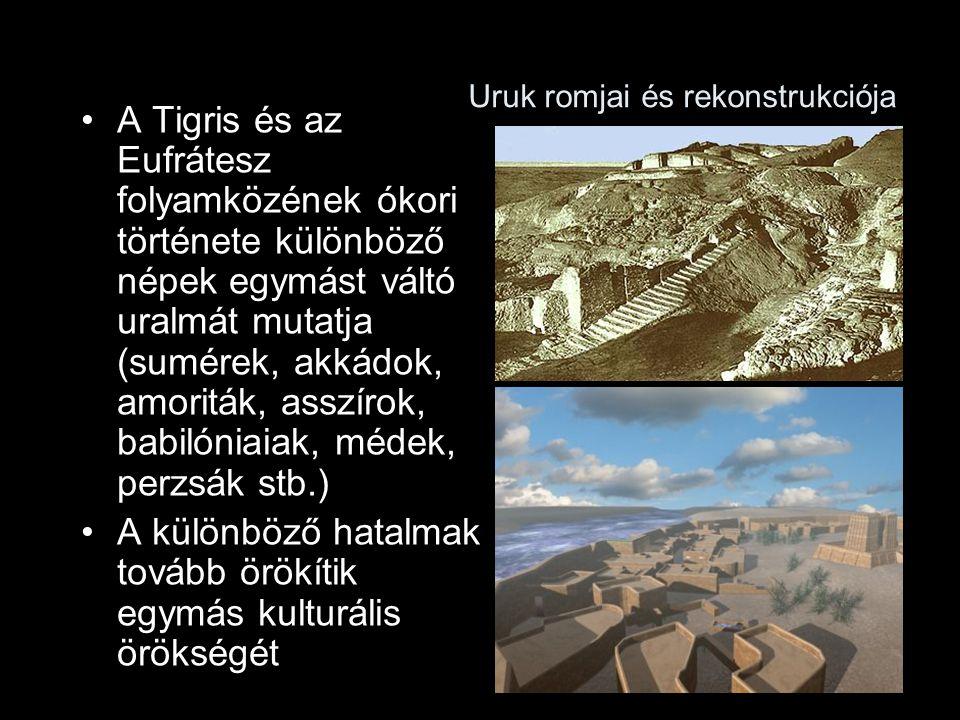 Uruk romjai és rekonstrukciója