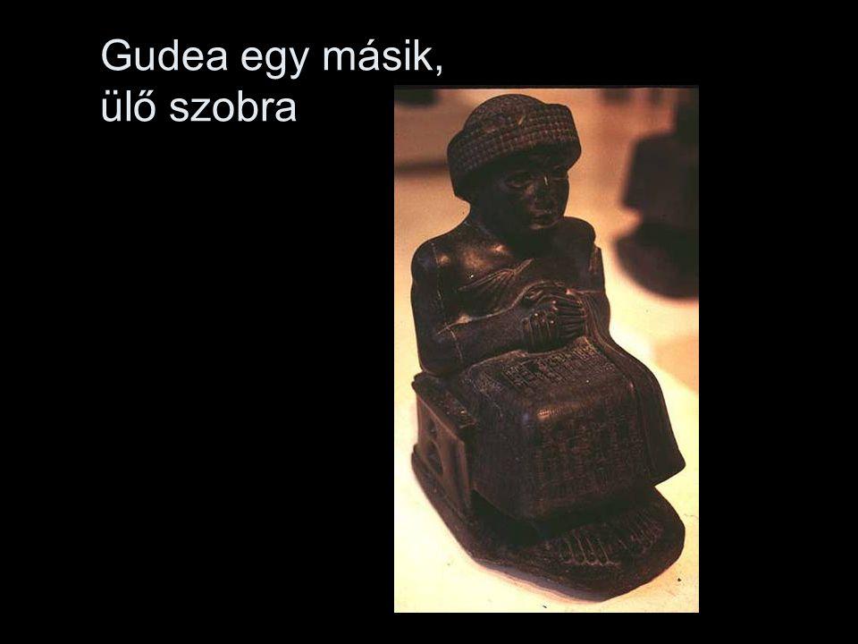 Gudea egy másik, ülő szobra