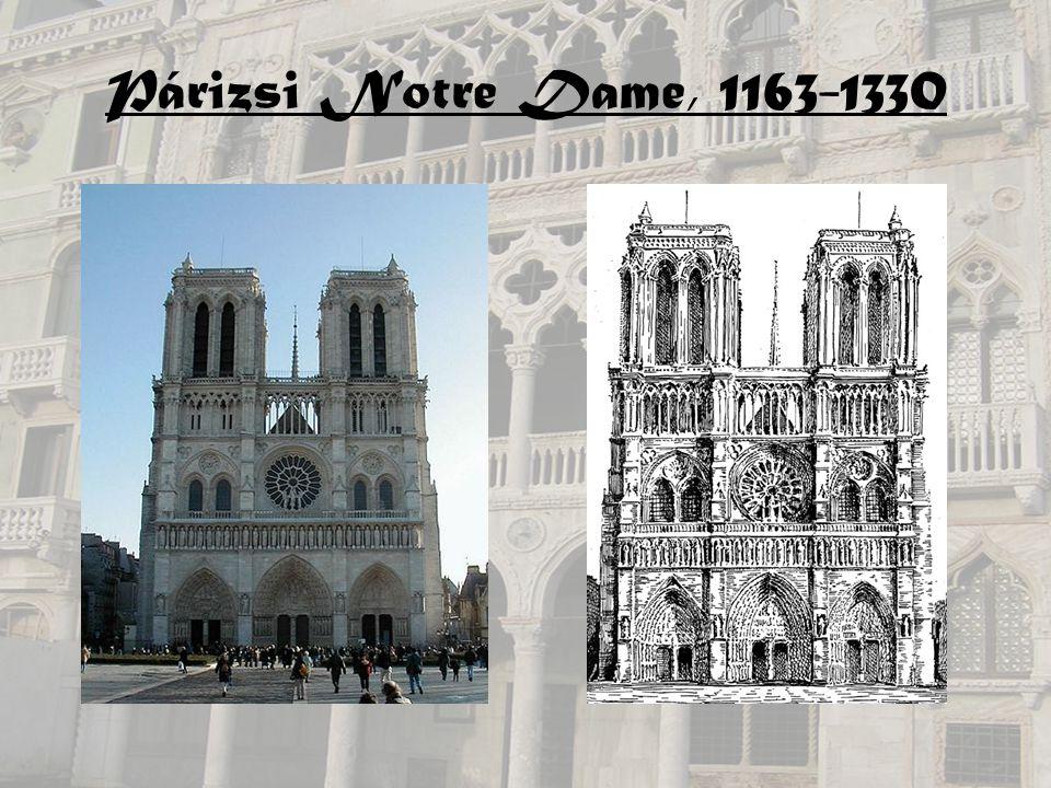 Párizsi Notre Dame, 1163-1330
